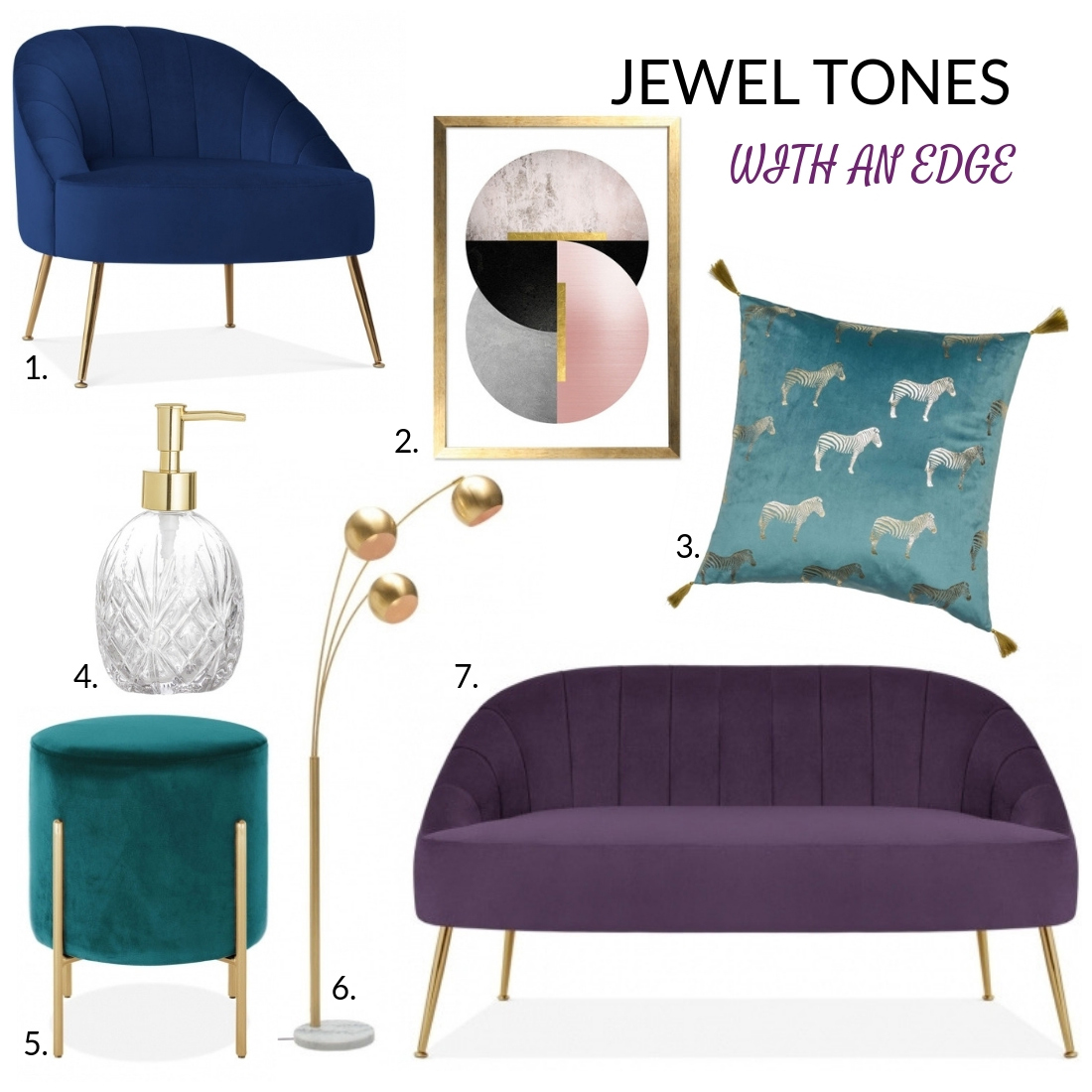 Relish In Rich Jewel Tones From Cult Furniture Fashion
