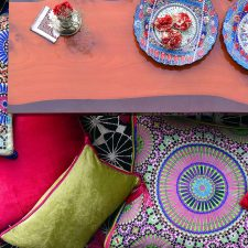 Moroccan Cushions with a Twist