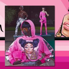FENDI PRINTS ON EDIT BY NICKI MINAJ
