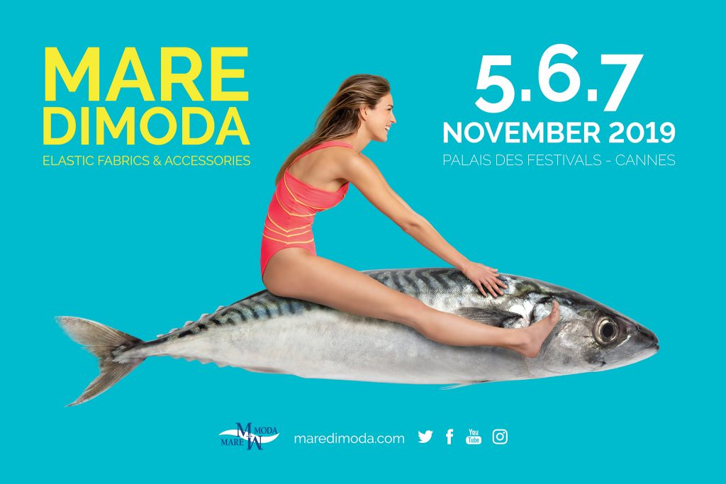 The Eighteenth edition of MarediModa - the international exhibition dedicated to fabrics and accessories for underwear, beachwear and athleisure - will be held from 5 to 7 November at the Palais Des Festivals, Cannes.