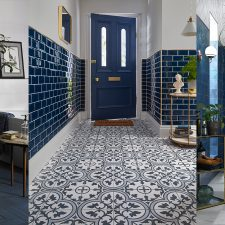 Interior Design Inspiration: Pantone 19-4052 Classic Blue Tiles by Walls and Floors