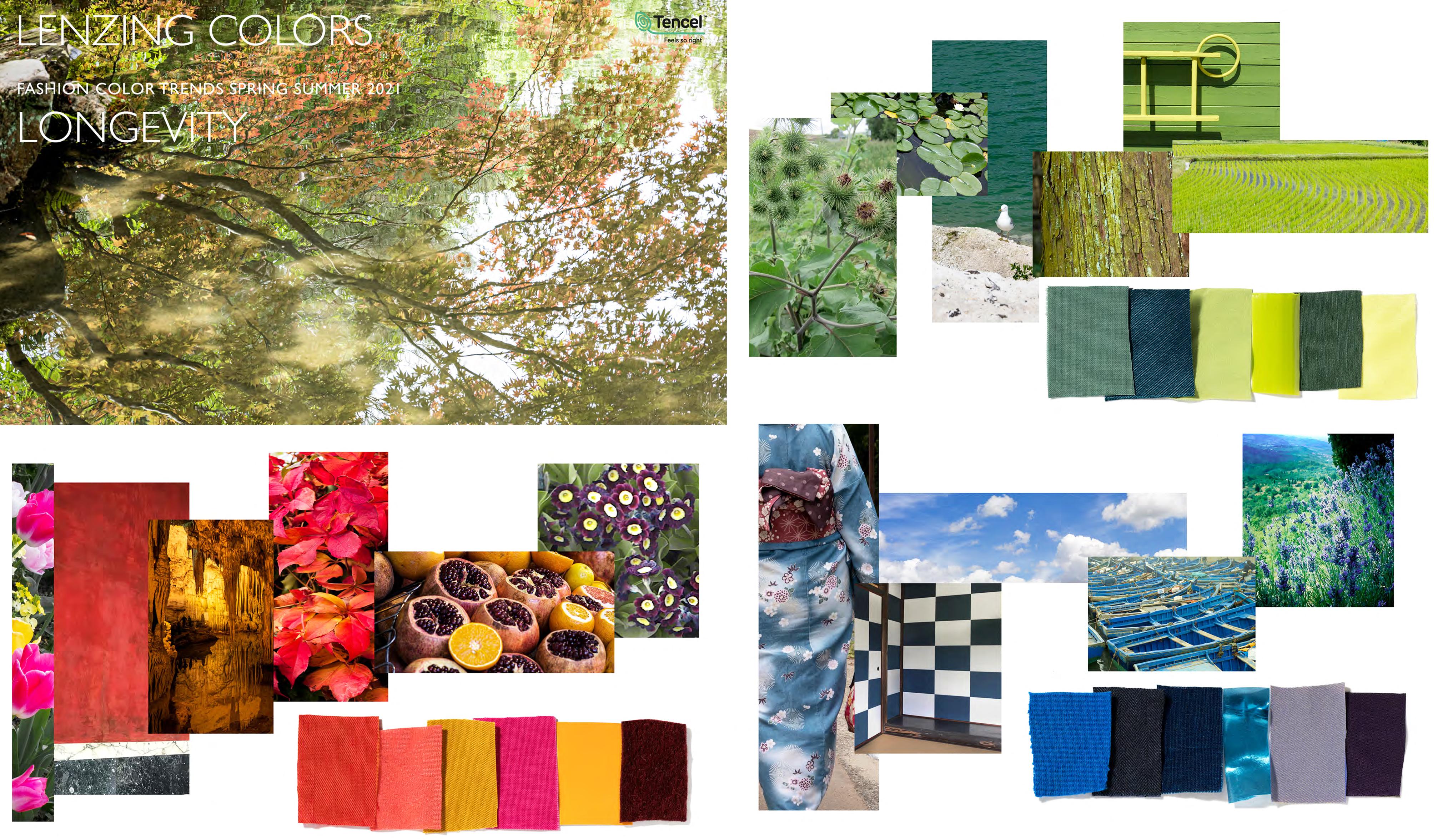 Lenzing Color Trends Spring/Summer 8 - Fashion Trendsetter