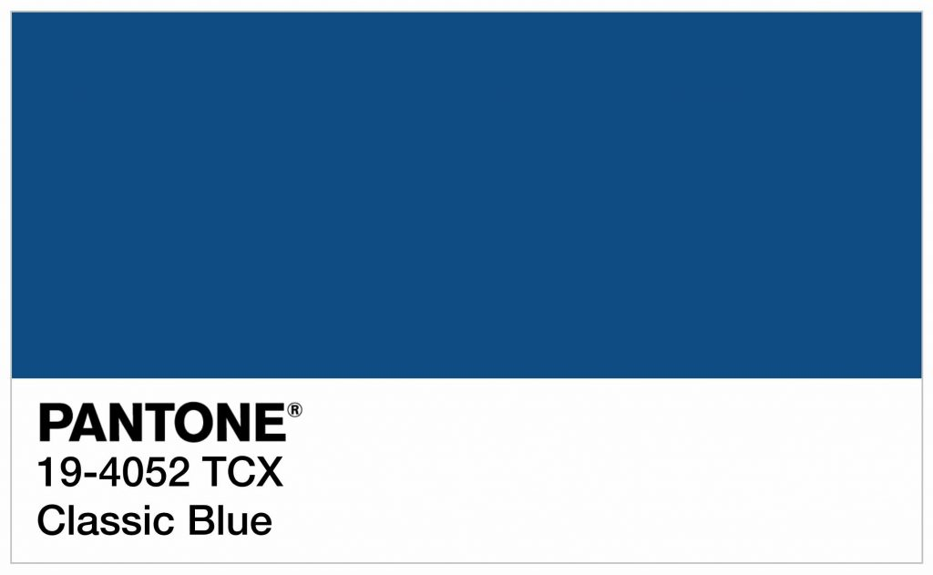 Color trend inspiration pantone 19 4052 classic blue - Color of the year 2020 ...