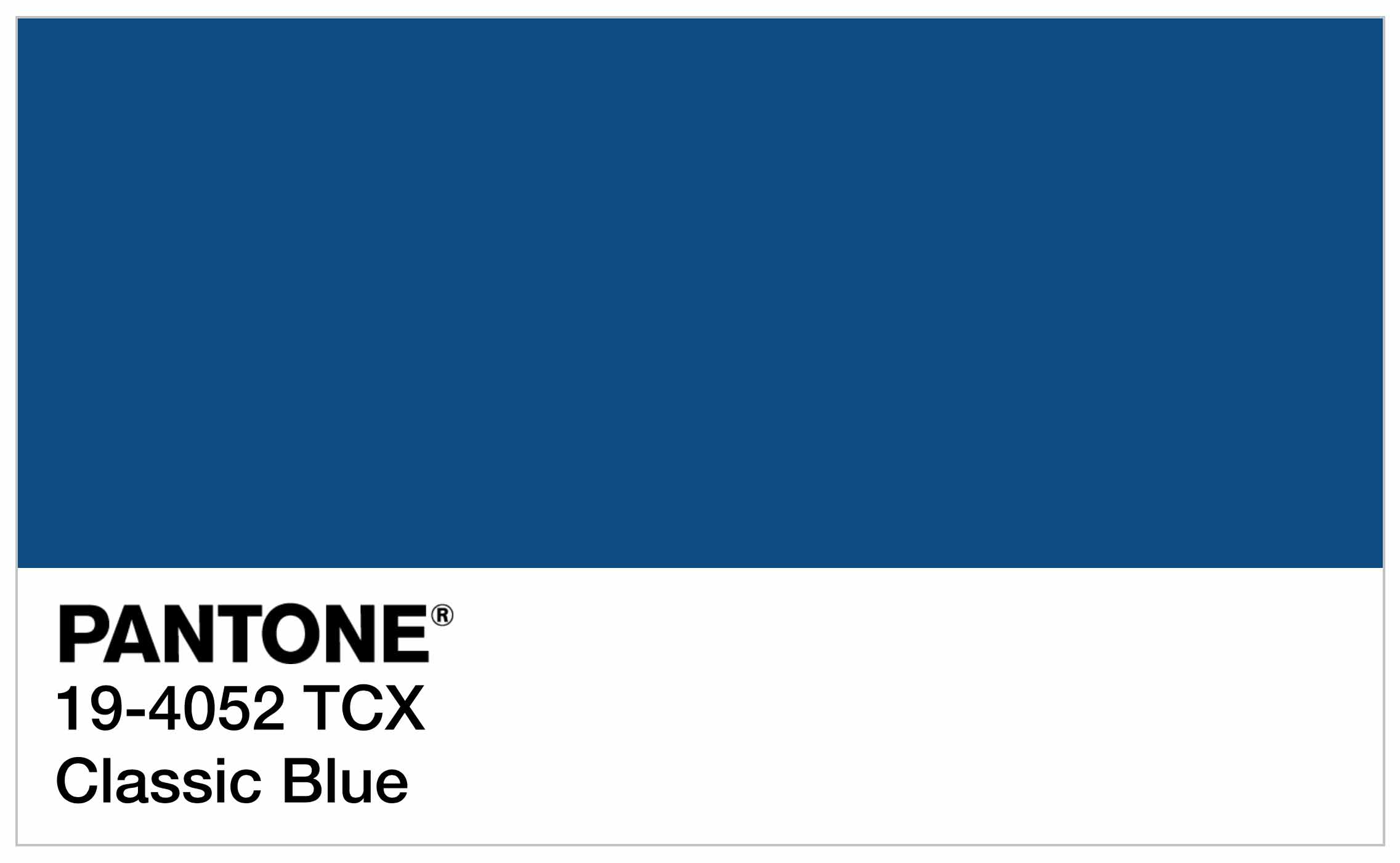 Pantone color of the year 2020 pantone 19 4052 classic - Color of the year 2020 ...