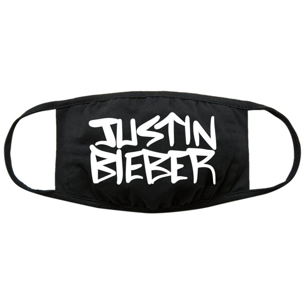 Justin Bieber Logo Cloth Face Mask.