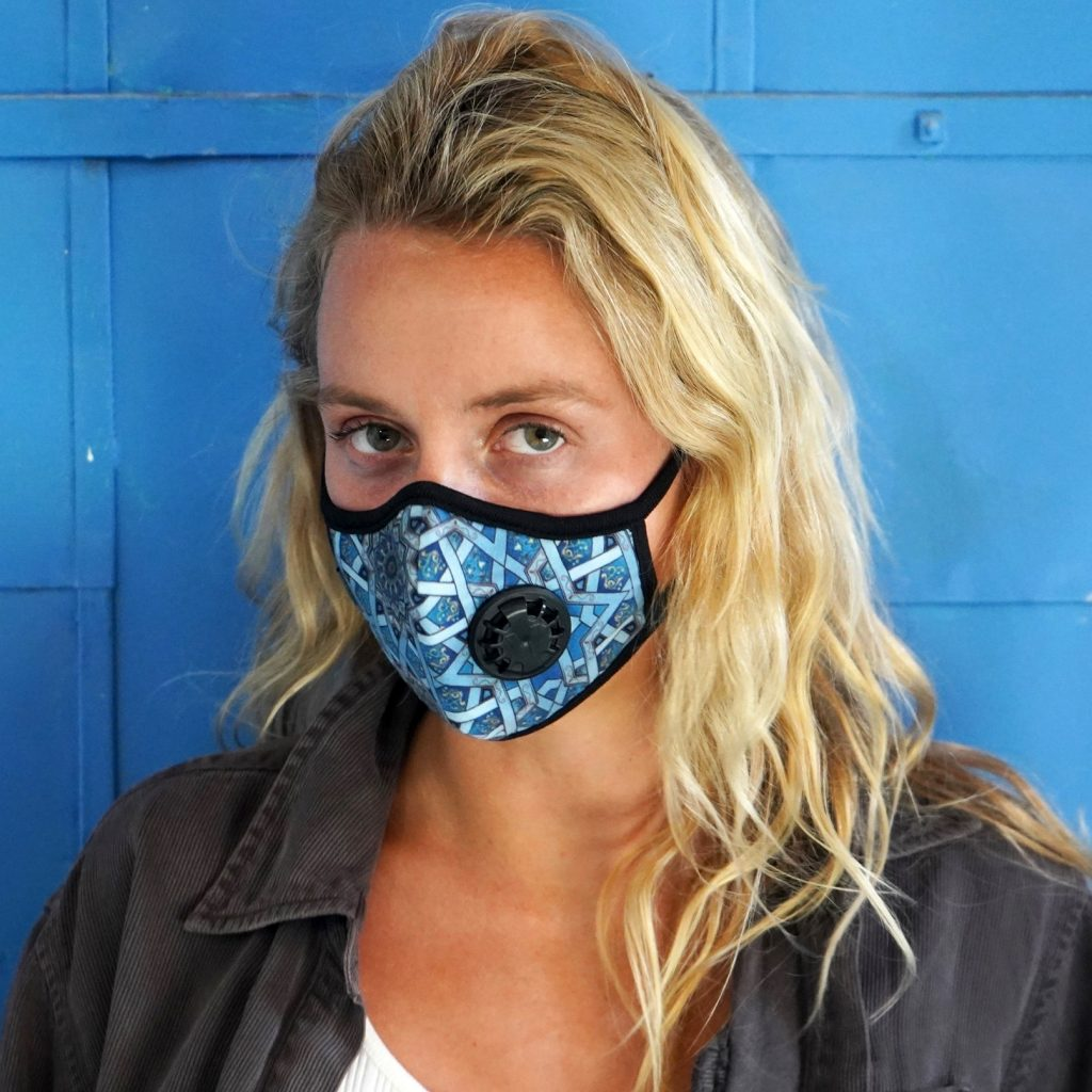 Vogmask is the original stylish filtering half mask for particles.