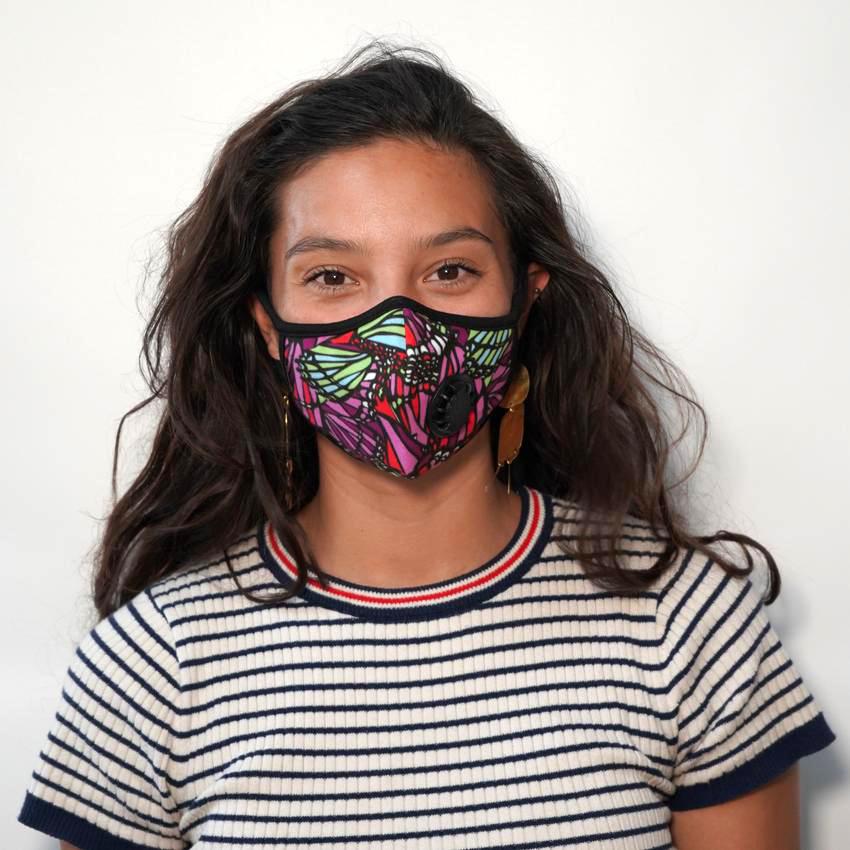Vogmask - New Fly. Vogmask is the original stylish filtering half mask for particles.