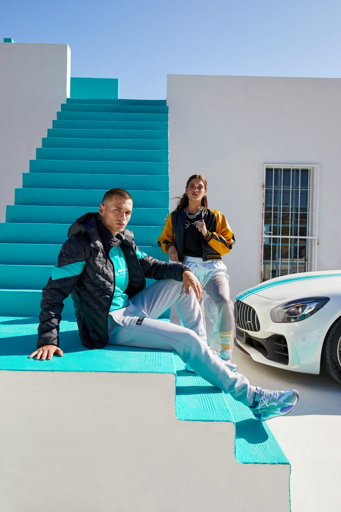 Just in time with the engines to rev up again, PUMA travels to pit lane to spot the latest looks from Aston Martin Red Bull Racing, BMW M Motorsport and the Mercedes-AMG Petronas Formula One Team lines.