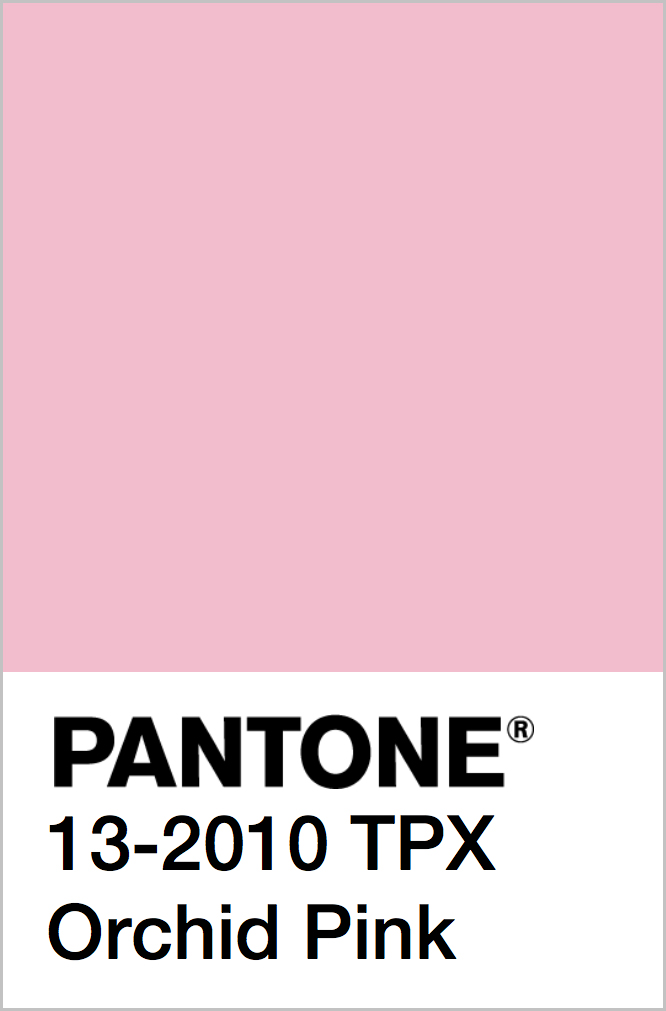 PANTONE 13-2010 TPX Orchid Pink