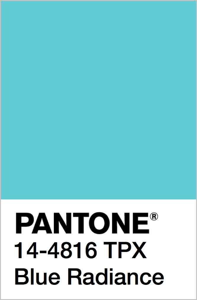 PANTONE 14-4816 TPX Blue Radiance
