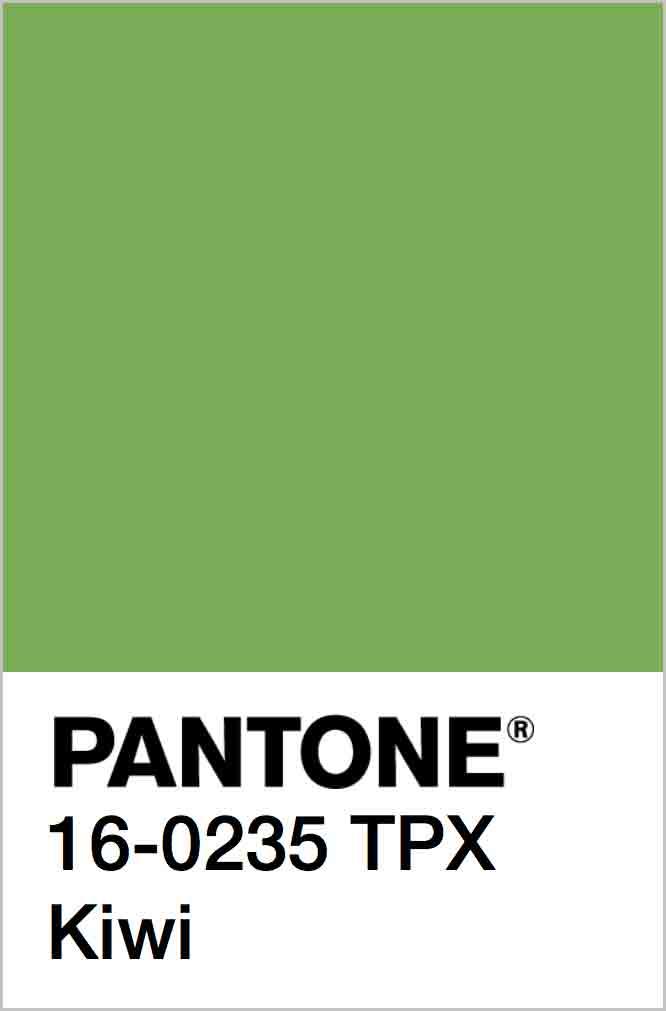 PANTONE 16-0235 TPX Kiwi