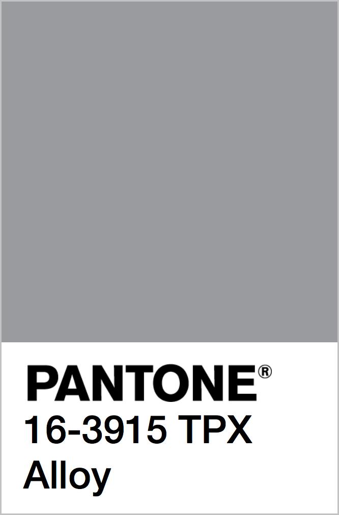 PANTONE 16-3915 TPX Alloy