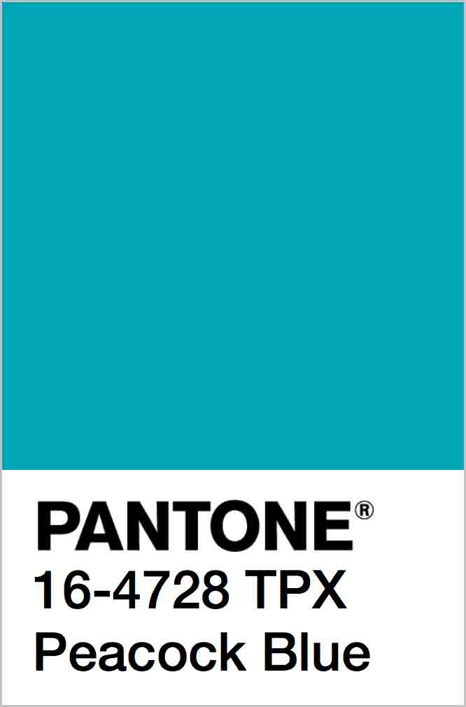 PANTONE 16-4728 TPX Peacock Blue
