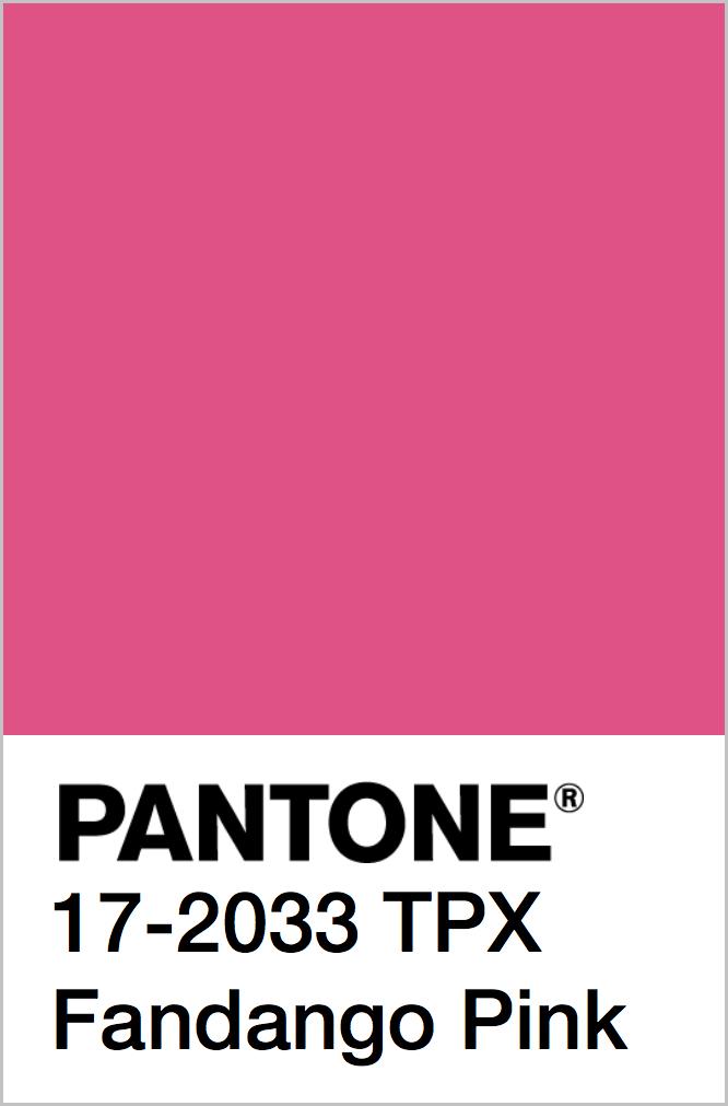 PANTONE 17-2033 TPX Fandango Pink