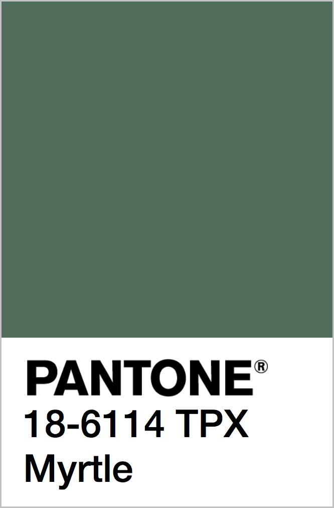 PANTONE 18-6114 TPX Myrtle