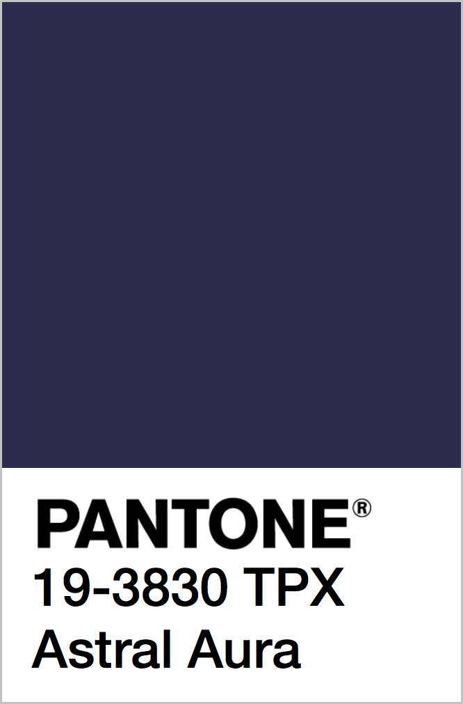 PANTONE 19-3830 TPX Astral Aura