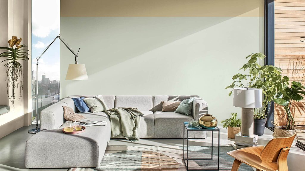 #1 A Home for Care - Dulux color experts have chosen Tranquil Dawn™, a color inspired by the morning sky, to help give homes the human touch.
