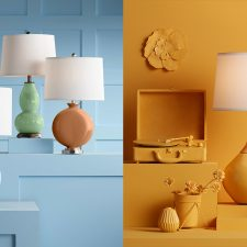 Dunn Edwards and Lamps Plus Color Trend Collaboration