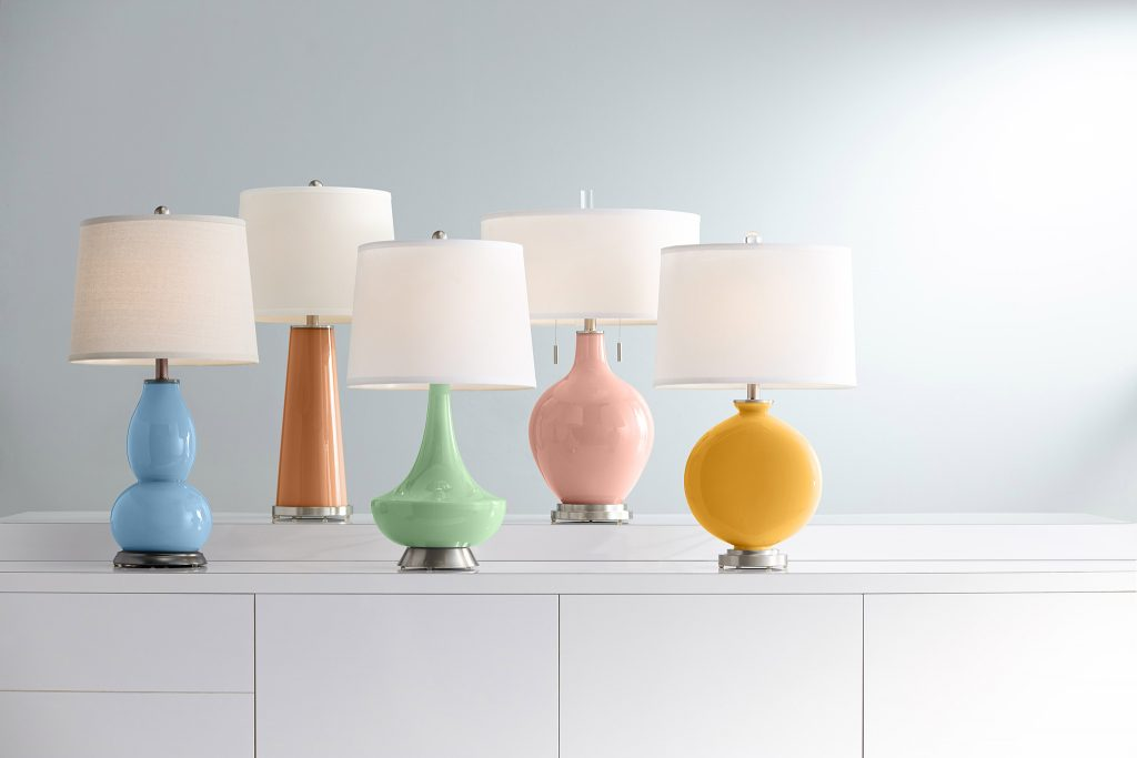 Lamps Plus Partners with Dunn-Edwards to Offer New Color-Focused Lighting and Lamp Shade Collection in Five 2021 Color and Design Trends Paint Colors.