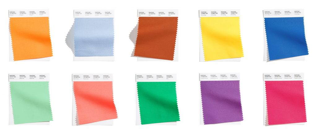 Pantone Color Institute Released Pantone Fashion Color Trend Report Spring/Summer 2021 For New York Fashion Week.