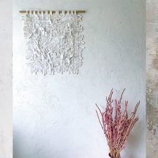 Craft Meets Art: New Collection of Natural Texture Art Objects by Vacarda Design