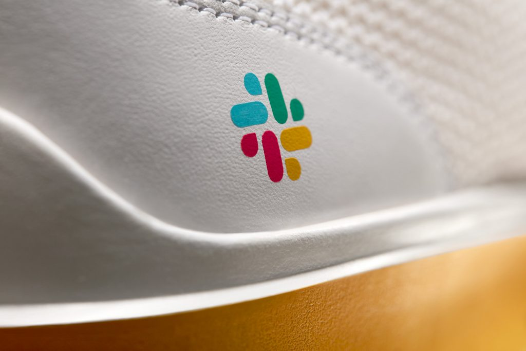Cole Haan x Slack Generation ZERØGRAND Bright White Stitchlite™ Lemon - Cole Haan released its latest collaboration, a limited-edition collection with Slack Technologies, Inc.
