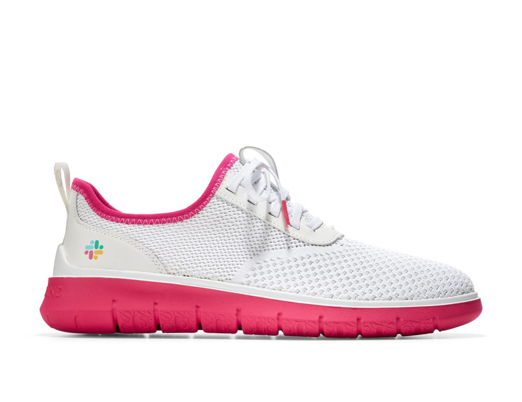 Cole Haan released its latest collaboration, a limited-edition collection with Slack Technologies, Inc.