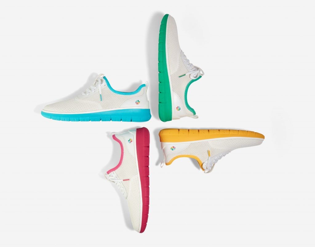 Cole Haan x Slack Generation ZERØGRAND Limited-Edition Collection - Cole Haan released its latest collaboration, a limited-edition collection with Slack Technologies, Inc.