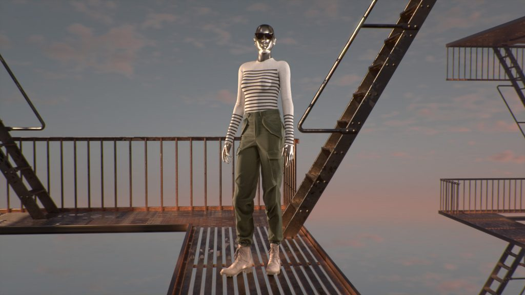 rag & bone unveiled a preview of its Spring/Summer 2021 collection with a dynamic teaser film, Metamorphosis, created in partnership with Microsoft.