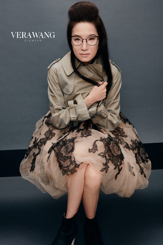 Vera Wang Stars in 2021 Eponymous Eyewear Campaign. To celebrate the latest eyewear collection, Vera Wang has become the face of the Kenmark Eyewear campaign for the first time ever.
