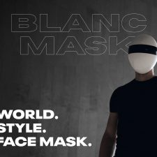 BLANC Mask: The Otherworldly Face Mask