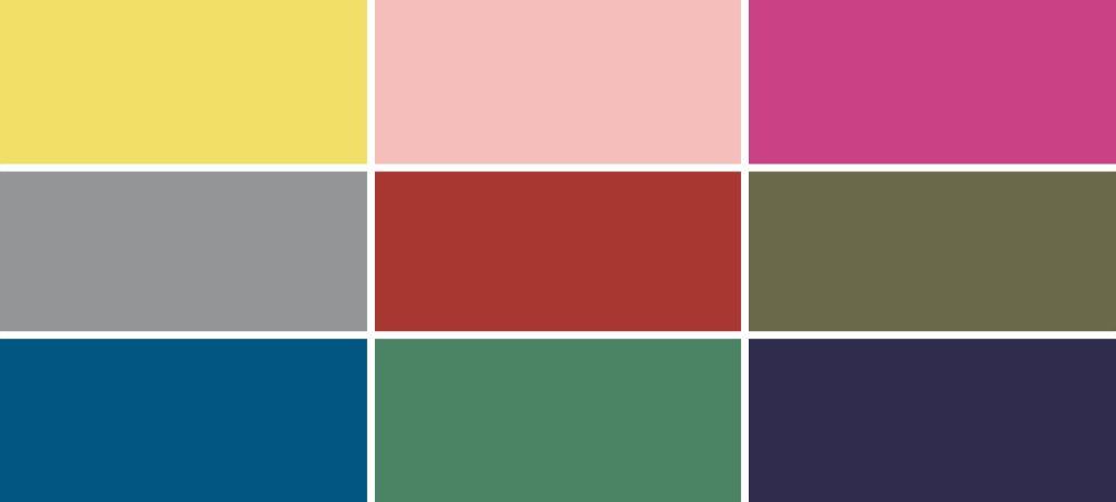 Pantone® Fashion Color Trend Report Autumn/Winter 2021/2022 Colors.