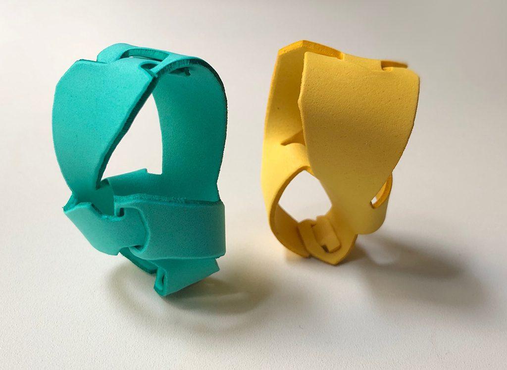Arp Rings, assembled, EVA 2 mm.
