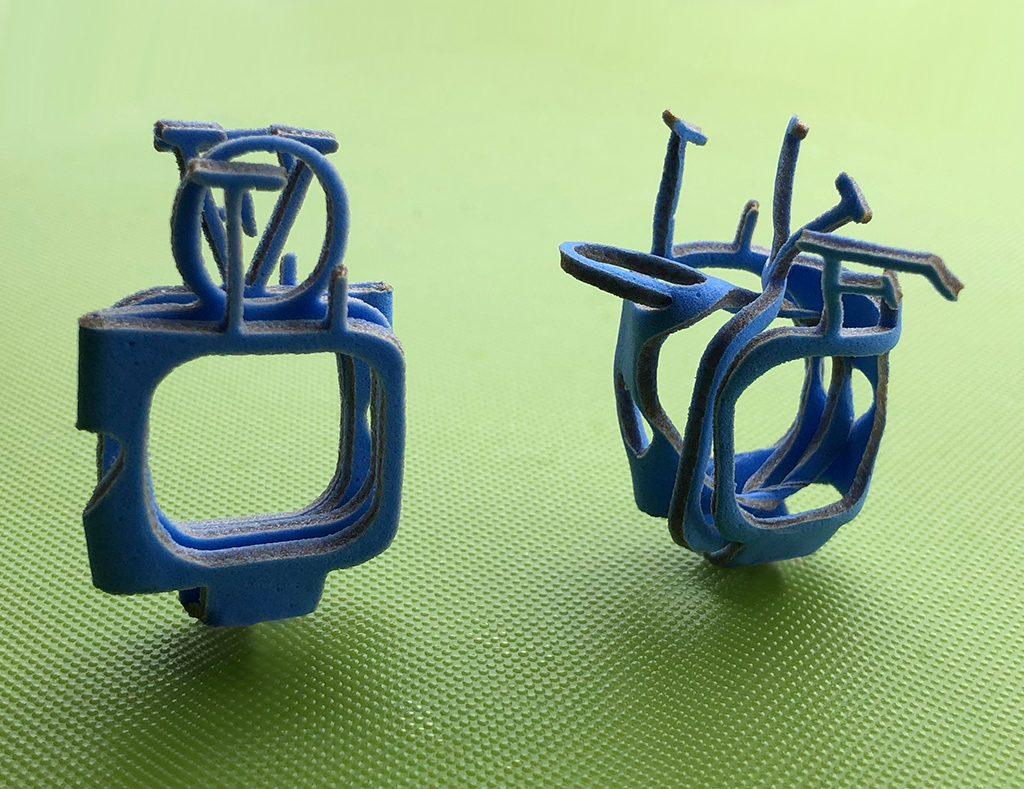 Evol Ring, deconstructed version, PVA 2 mm.