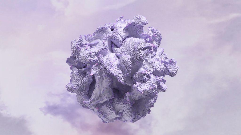 WGSN x Coloro - Digital Lavender | Coloro: 134-67-16 | Color of the Year 2023. (Photo courtesy of WGSN & Coloro via YouTube)