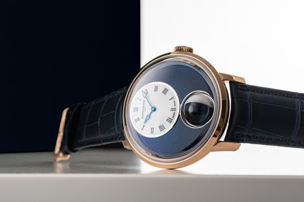 Arnold & Son Debuts Luna Magna: World's Largest 3-D Moon Phase Timepiece