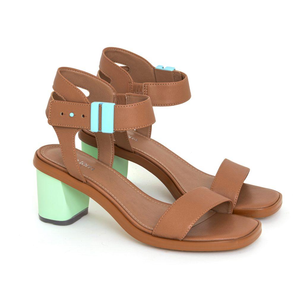 Della Terra Footwear Cora Honey Mint