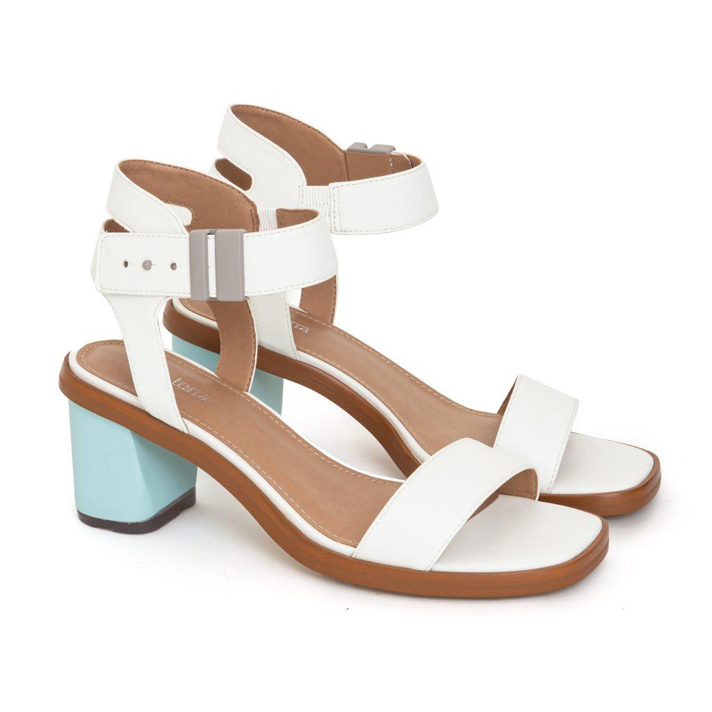 Della Terra Footwear Cora Snow Blue Skies