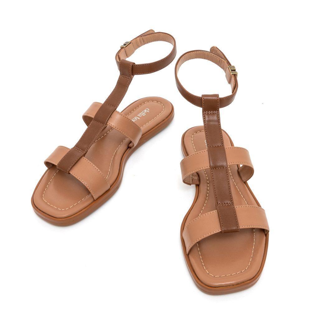 Della Terra Footwear Darya Honey Multi