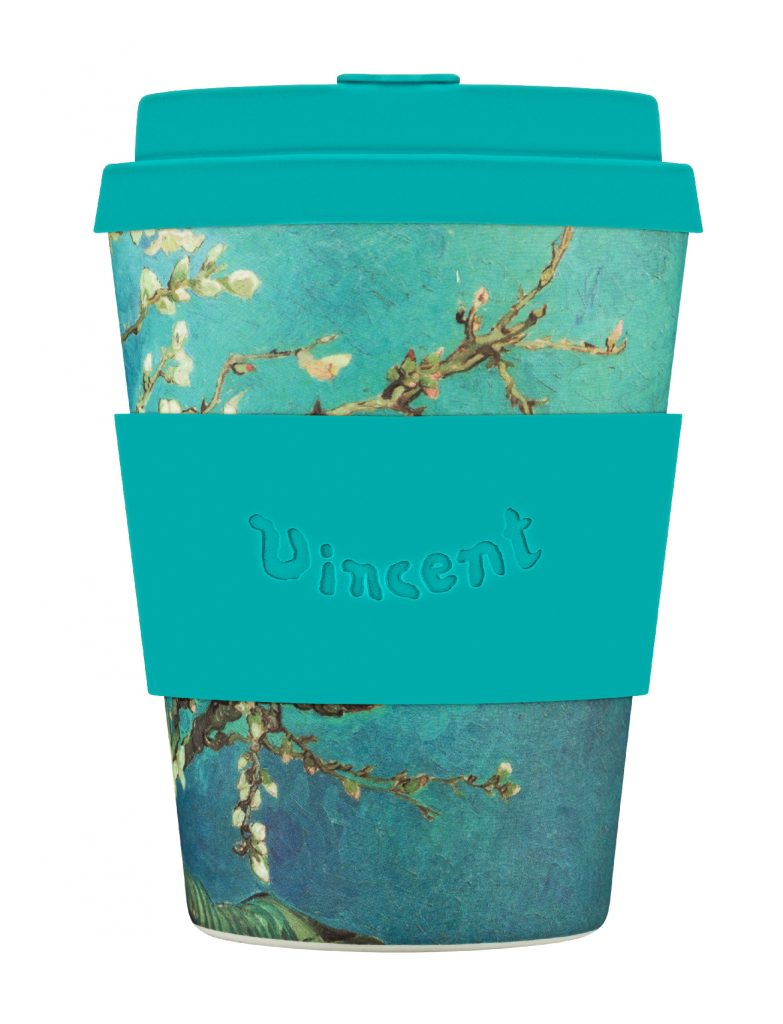 Ecoffee Cup 12oz: Van Gogh, Almond Blossom.