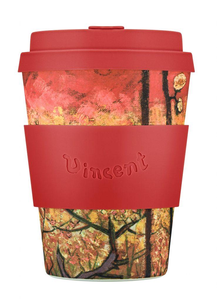Ecoffee Cup 12oz: Van Gogh, Flowering Plum Orchard