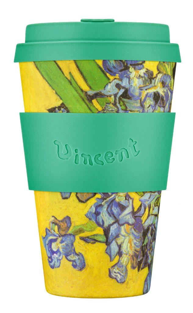 Ecoffee Cup 14oz: Van Gogh, Irises