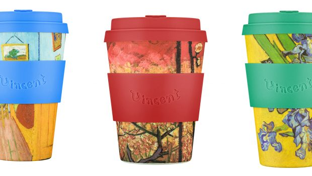 Ecoffee Cup x Van Gogh Museum join forces to raise awareness of single-use waste, through the beauty of Vincent van Gogh.