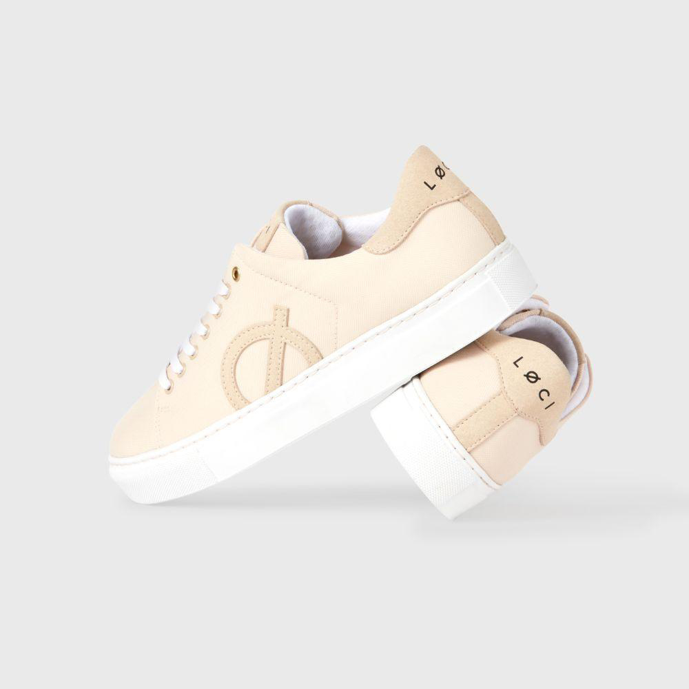 Nikki Reed Cool Vegan Sneakers.
