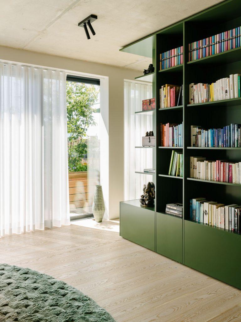 The Green Box, Photo ©Robert Rieger, Courtesy of Ester Bruzkus Architekten.