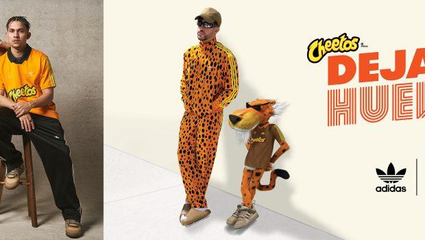Cheetos and Bad Bunny Drop Exclusive Adidas Fashion Collection