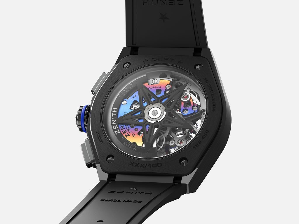 Zenith and Felipe Pantone Collaborate to Create the Manufacture's First Watch Designed with a Contemporary Artist: Introducing the Defy 21 Felipe Pantone, a Highly Chromatic and Visually Striking Timepiece That Brings a Different Notion of Art to Watchmaking.