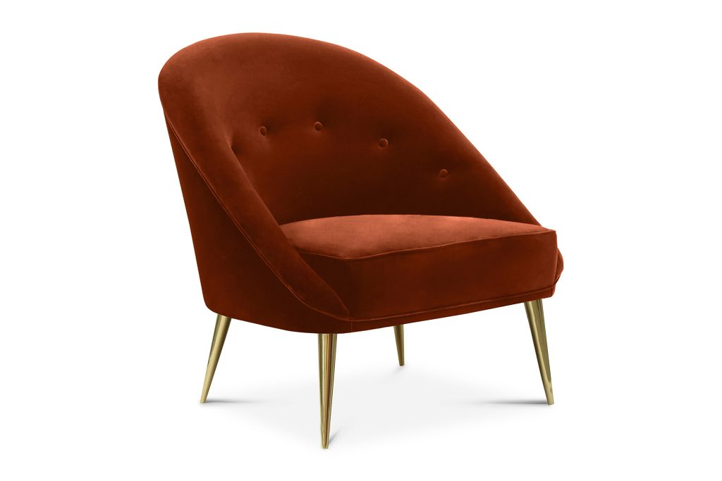 Aberdeen Chair PINK -KK By Koket Projects Classic yet modern in its silhouette, the sweeping curves of the Aberdeen chair will make a simple yet confident statement. Place at your vanity for a comfortable spot to beautify, or add as chic accent in any room.