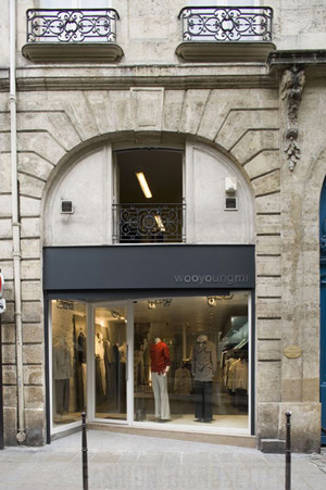 Wooyoungmi Paris Shop Entrance